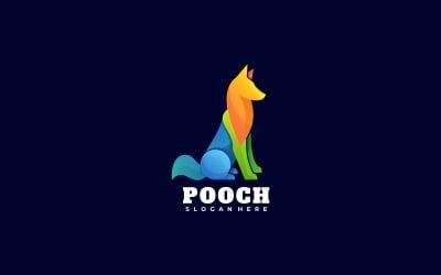 Pooch Gradient Colorful Logo