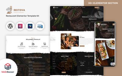 Restova - Gyorséttermi és éttermi érzékeny Wordpress téma