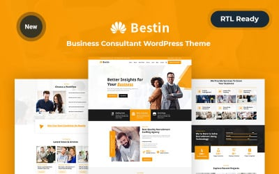 Bestin - Responsive Business WordPress Theme