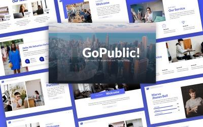 GoPublic! -  Business Multipurpose PowerPoint Template