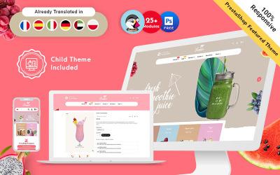 Summer - Drink & juice Premium PrestaShop Responsive Theme