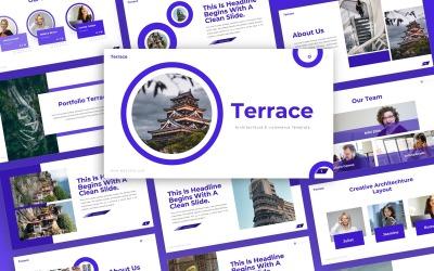 Terrace -  Architecture Multipurpose PowerPoint Template