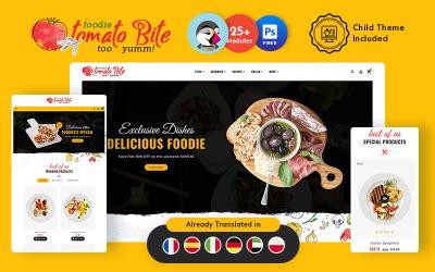 Tomato Bite Fast Food PrestaShop Responsive Theme