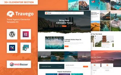 Travego - Tour & Travel Agency Template WordPress Theme