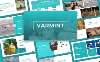 Varmint   Animal Multipurpose PowerPoint Template