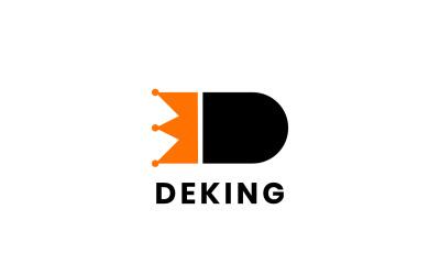 Letter D King Logo Concept