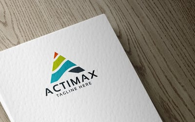 Professional Actimax Letter A Logo