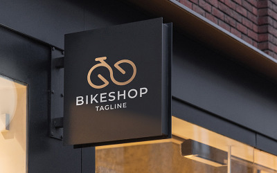 Professional Bike Shop Logo