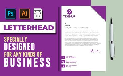 Letterhead Template Vol: 04 - Corporate Identity Template