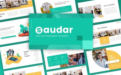 Saudar -  Strat Up Multipurpose PowerPoint Template