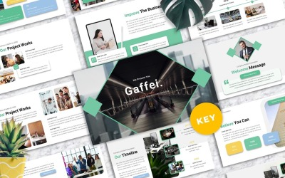 Gaffei - Company Profile Keynote Templates