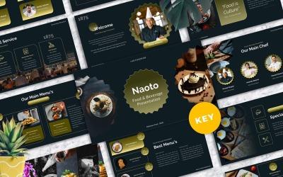 Naoto - Food & Beverages Keynote Templates
