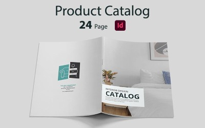 Product Catalog Design Corporate identity Template