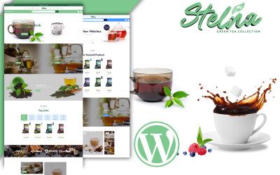 Tema WooCommerce do salão de chá de Stelna e loja de ervas