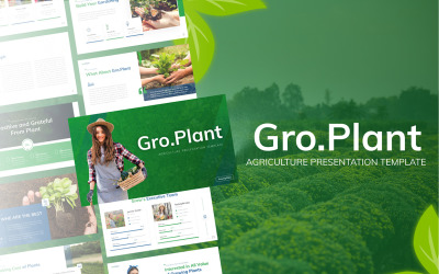 Gro.Plant Agriculture Professional PowerPoint Template