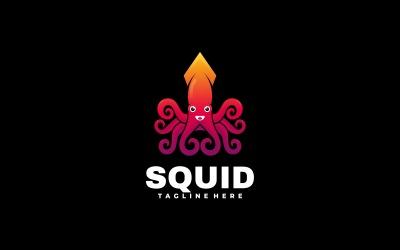 Squid Gradient Colorful Logo Template