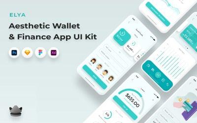 Elya - Wallet And Finance Mobile App UI Kit