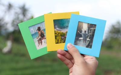 Realistic Photo Frame Product Mockup
