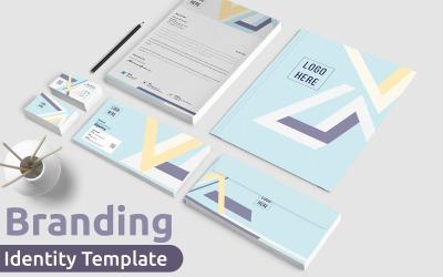 Corporate Branding Identity Stationery Template