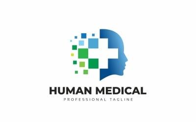 Human Medical Logo Template