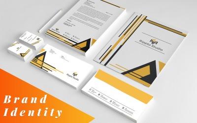 Linzy- Corporate Branding Identity Stationery Template