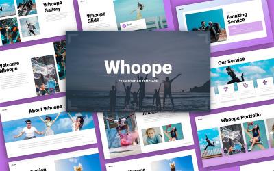 Whoope Fun Presentation Template