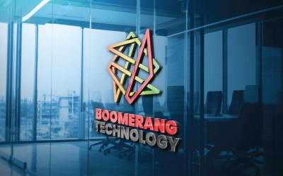 Boomerang Technology Logo Template