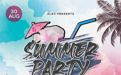 Creative Guy -Summer Party Flyer
