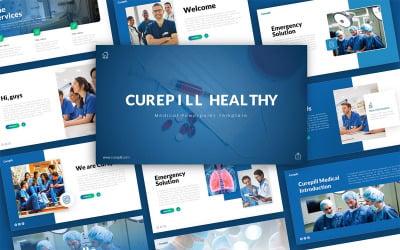 Curepill Medical Presentation PowerPoint Template