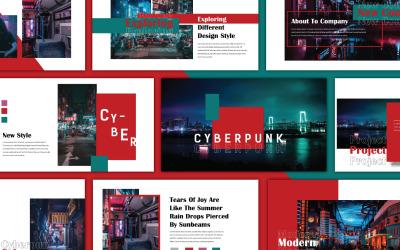 Cyberpunk Keynote-sjabloon