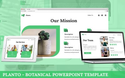 Planto - Botanical Powerpoint Template