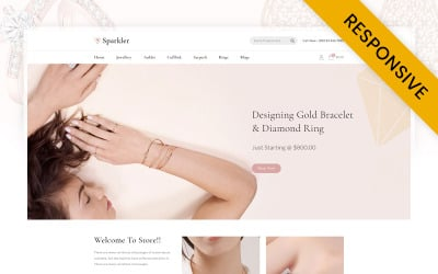 Sparkler - Jewelry Store Opencart Responsive Theme