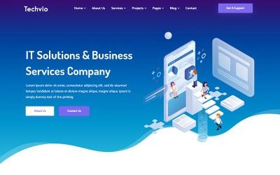 Techvio - IT Solutions & Business Services Website Template