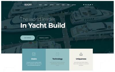 Seajay - Satın Al Kirala ve Yat Yap WordPress teması