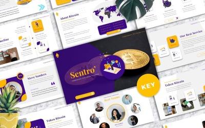 Sentro  - Cryptocurrency Keynote Templates