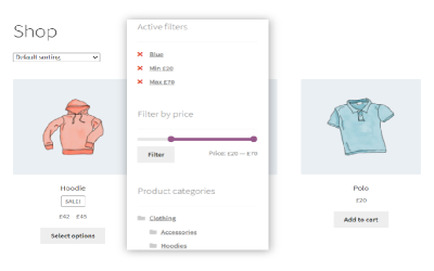 WooCommerce Product Filter and Infinite Scrolling
