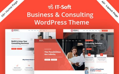 Dream-IT Consultant Business Service WordPress Theme