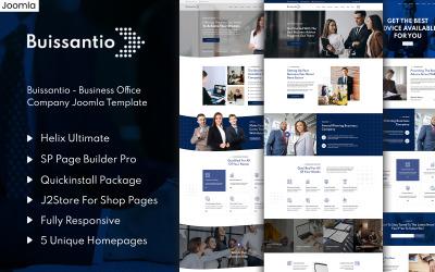 Buissantio - Business & Corporate Joomla Template