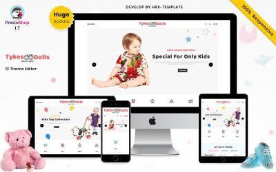 Tykes Dolls Mega Children Fashion Kids Store Temi Prestashop Premium
