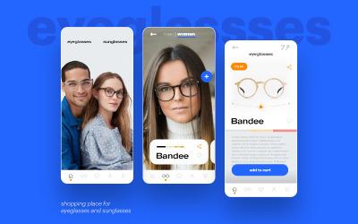 E-commerce Shop Mobile UI Design