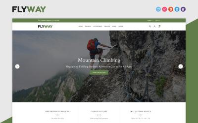 Flyway - Hiking, Camping & Trekking Duyarlı OpenCart Şablonu