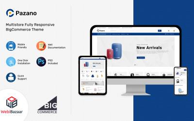 Pazano - šablona BigCommerce nákupního centra