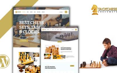 Tacchess- Tema WordPress de xadrez