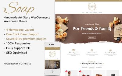 Soap - Художній магазин ручної роботи WooCommerce WordPress Theme