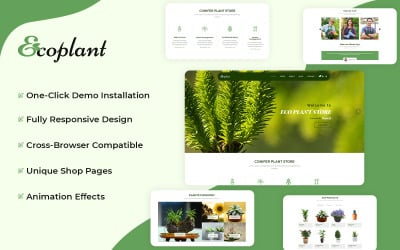 EcoPlant - Plant Store WooCommerce Theme