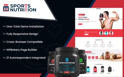 Sports Nutrition Store - Multipurpose WooCommerce Theme