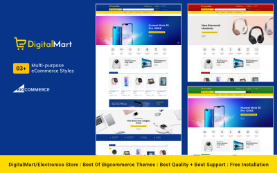 DigitalMart – Wzornik BigCommerce Multi-Purpose