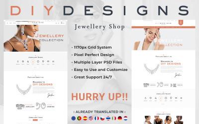 DIY-ontwerpen - PSD-sjablonen voor sieraden