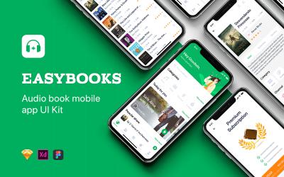 Easybooks - Audiobook UI Kit