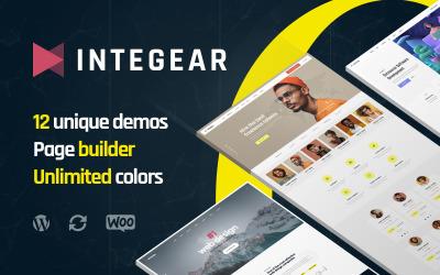 Integear - WordPress šablona pro IT společnost a agenturu pro webový design